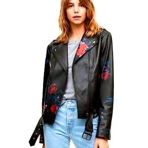 Mackage Aritzia leather biker jacket